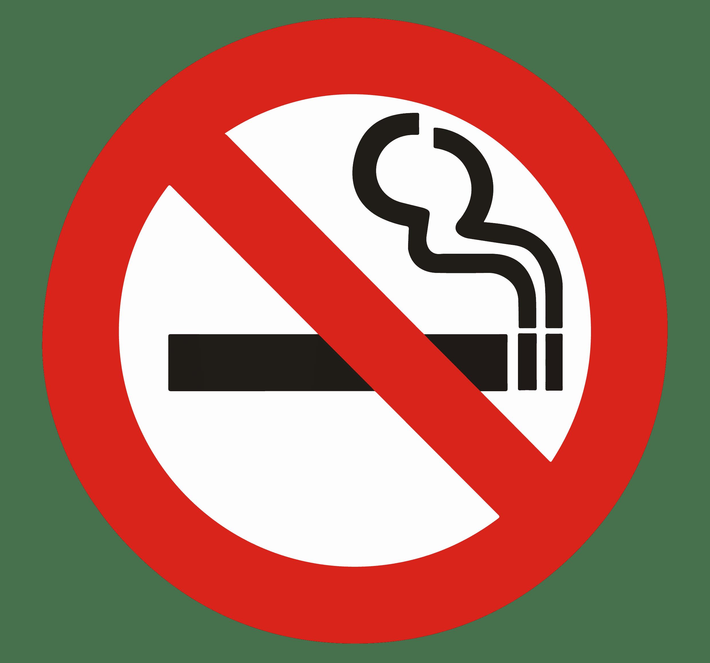 Signe interdiction de fumer
