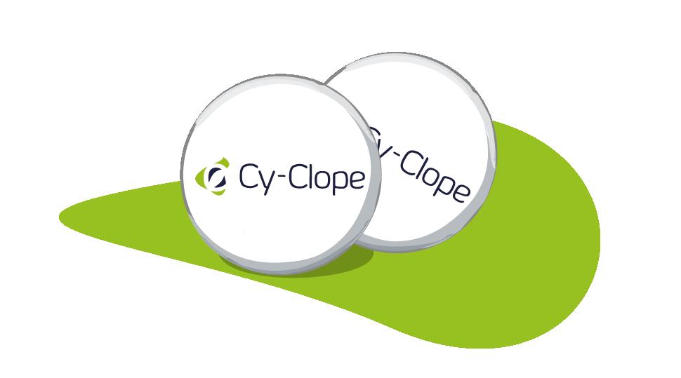 Cendrier de poche Cy-Clope